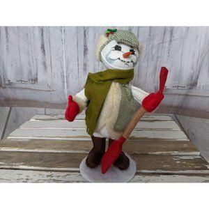 Annalee 2013 Alpine Snowman Doll Figurine 9 Inch C